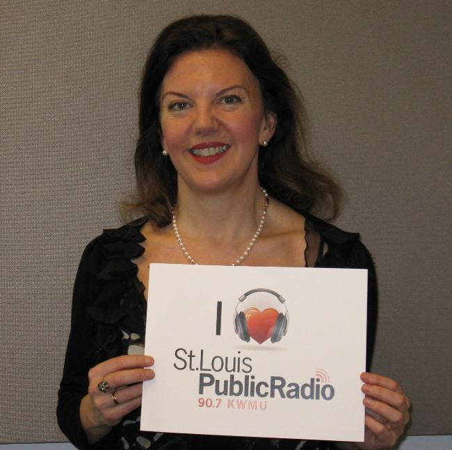 Tasmin Little at St. Louis Public Radio