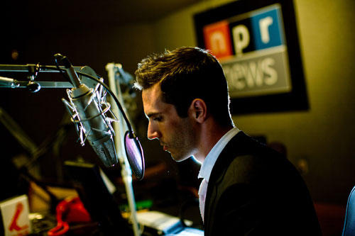 Ari Shapiro at microphone