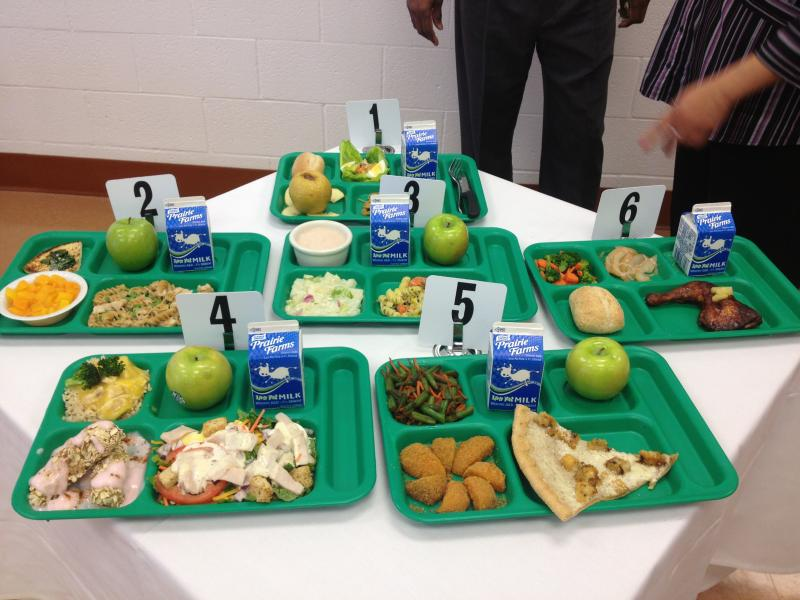 Six lunches total were prepared by the student chefs.