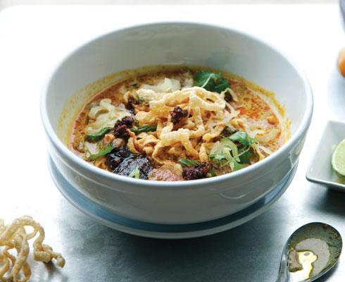 Khao Soi soup at Fork & Stix