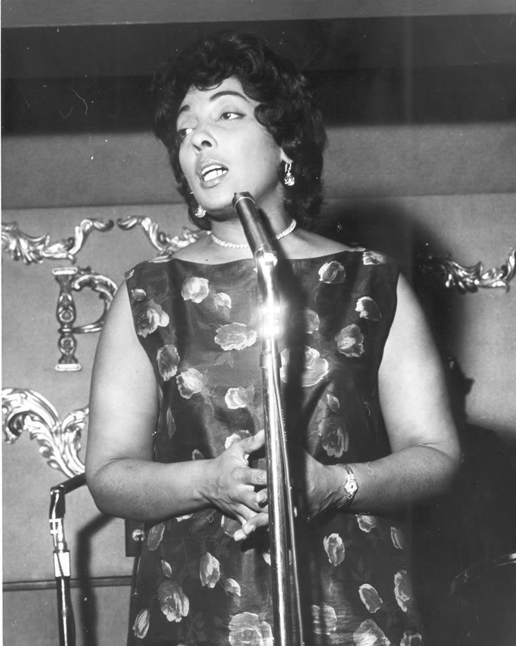 Carmen McRae at Peacock Alley
