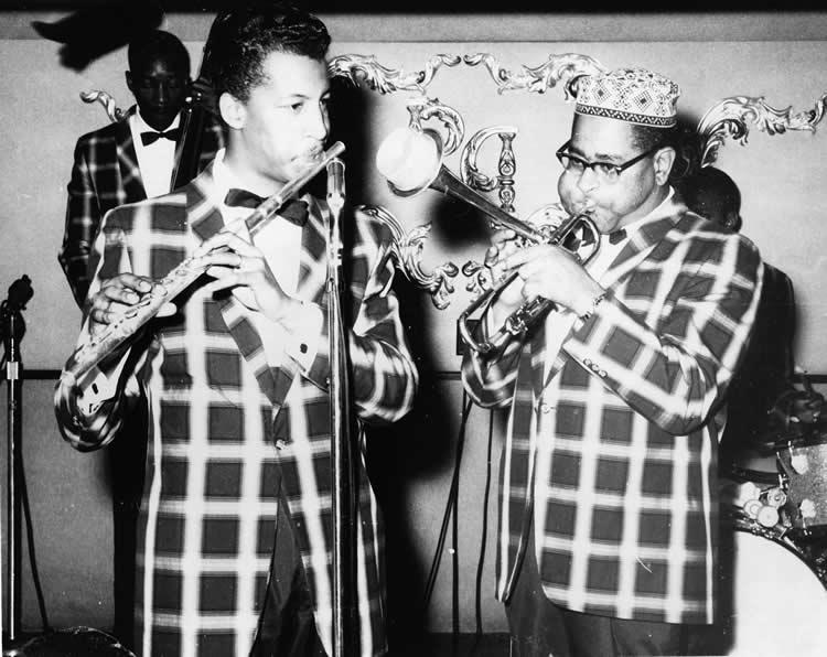 Les Spahn & Dizzy Gillespie at Peacock Alley