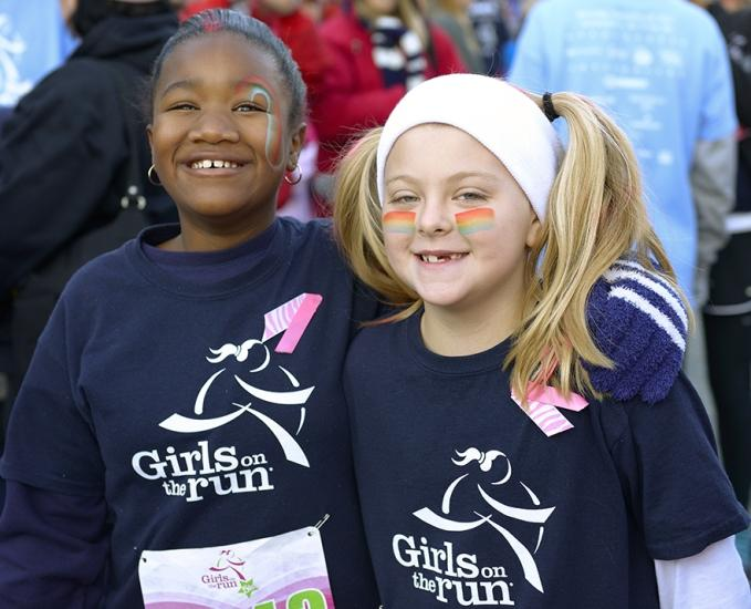 Girls on the Run Paraticipants