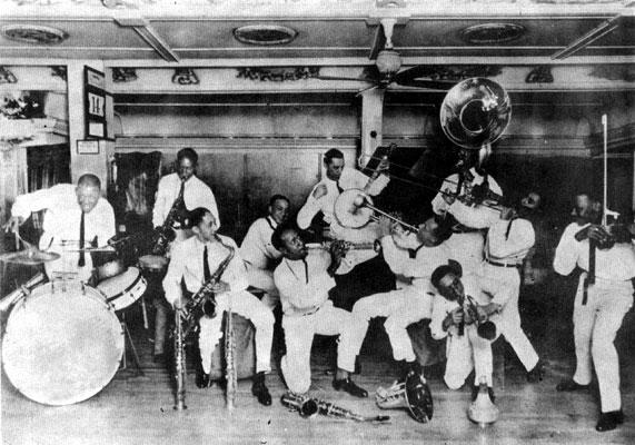 Fate Marable Band-1924