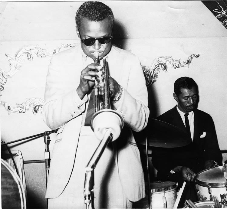 "Miles Davis and ""Philly Joe"" Jones"