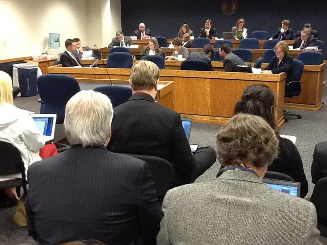 Mo. House Committee on Govt. Oversight and Accountability discusses HB 700 before voting 7-2 to pass it.