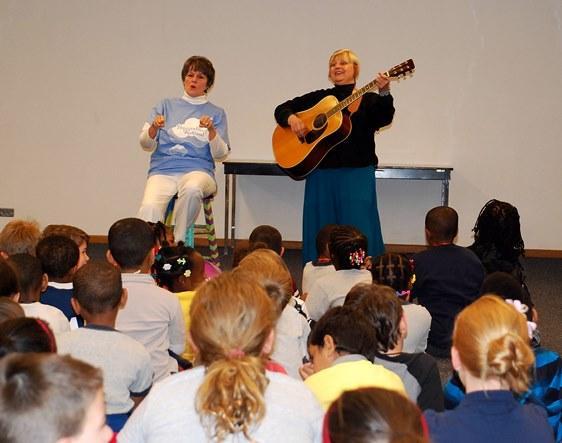 Regional Storytellers Marilyn Kinsella and Kathy Schottel