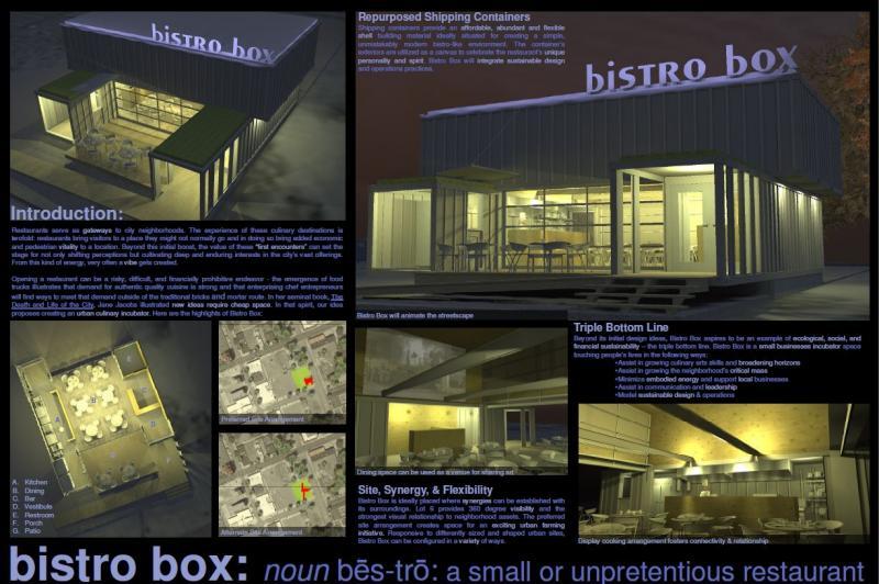 Bistro Box concept