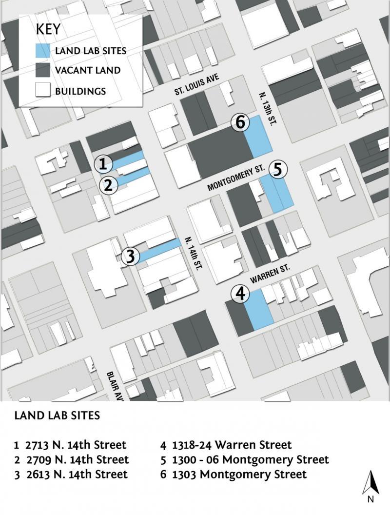 Land Lab sites
