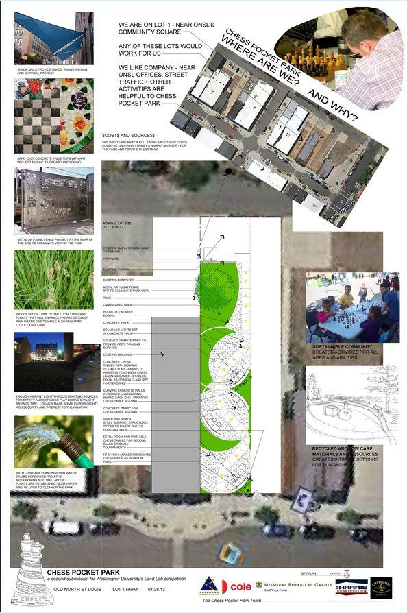 Chess Pocket Park Design