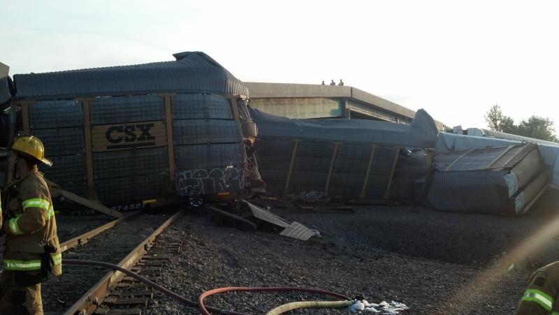 Photo of crash site