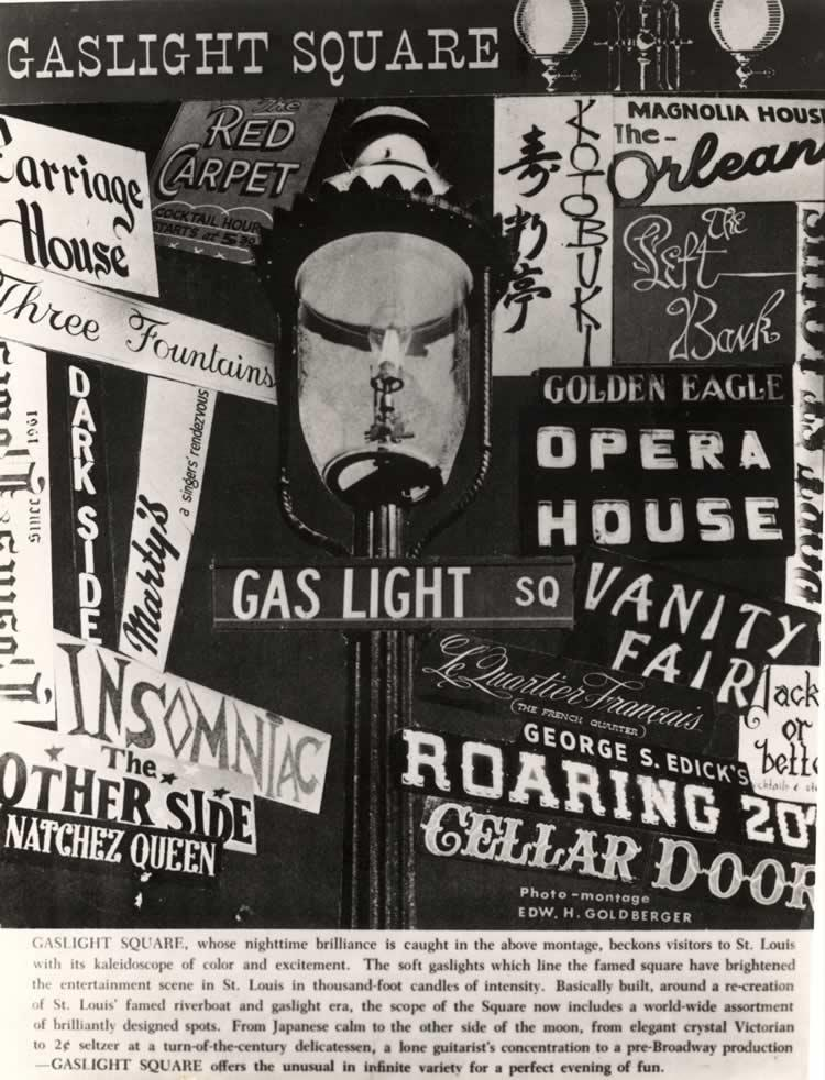 Gaslight Square Poster