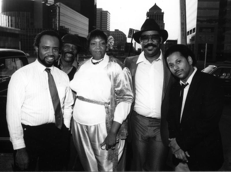 Johnny O'Neal, John Mixon, Mae Wheeler, David Hines, Ptah Williams