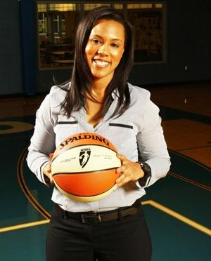 Khalia Collier, owner and GM of the St. Louis Surge. Ms. Collier was one of three entrepreneurs featured on the program.