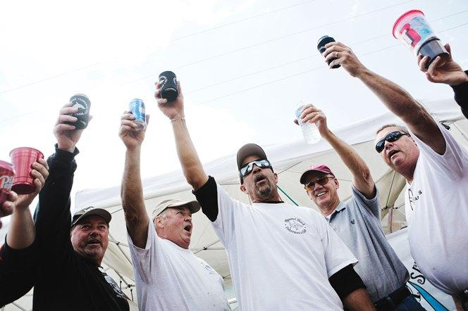 Members of the Missouri Shark Fisherman's Club