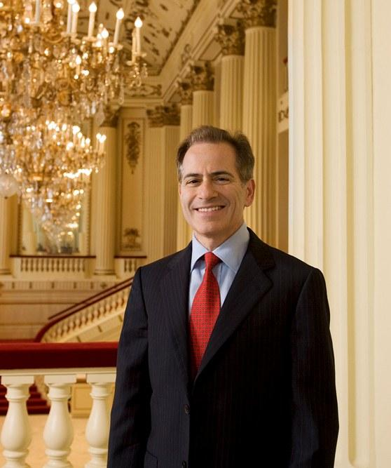 St. Louis Symphony President and CEO Fred Bronstein in Powell Hall