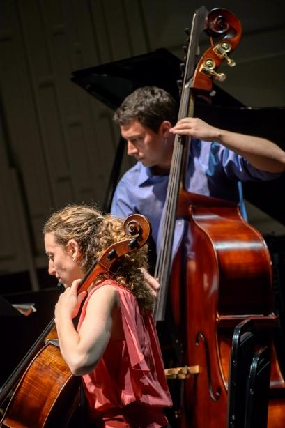 Gesher Music Festival's Sara Sitzer and Adam Anello