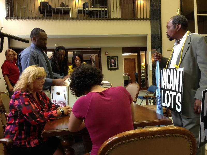 The St. Louis Board of Elections has 10 days to review the petition signatures.