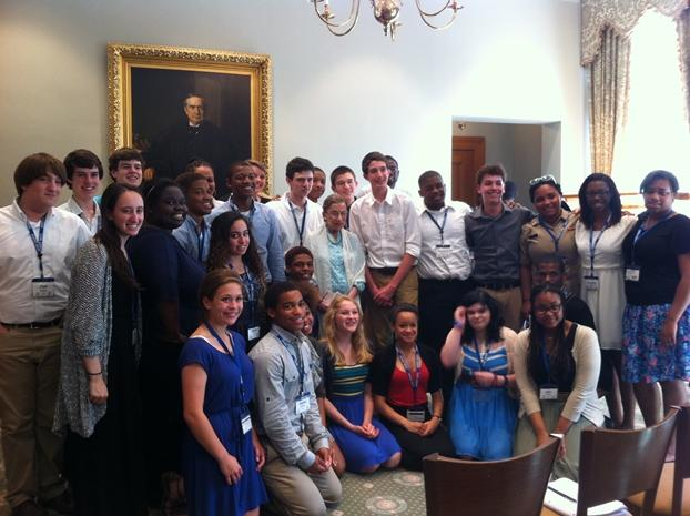 Cultural Leadership Class 9 with Supreme Court Justice Ruth Bader Ginsburg in Washington, D.C.
