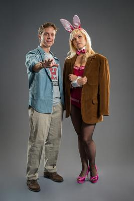 Elle (Michelle London) and Emmett (Ben Nordstrom)