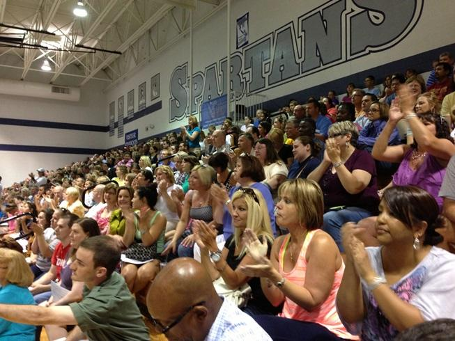 Francis Howell and Normandy parent meeting