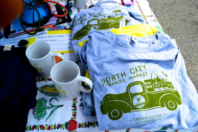 Old North shirts and mugs are available for purchase, as well as additional information on the Old North neighborhood.