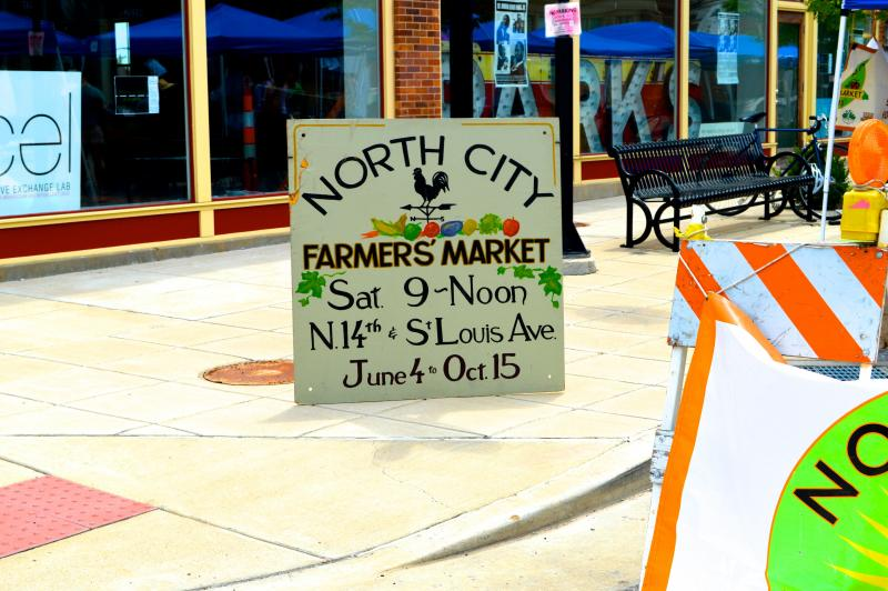 The North City Farmers Market is a weekly in-season event that is managed by the Old North St. Louis Restoration Group. in St. Louis every week during the market season.