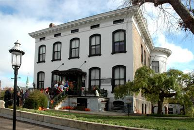 Exterior of the Lemp Mansion In St. Louis, Mo.