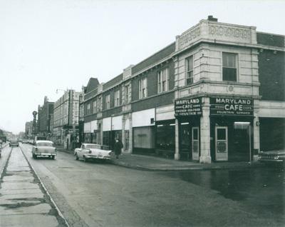 Maryland Cafe, circa 1965.