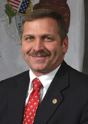 Illinois State Rep. Mike Bost of Murphysboro.