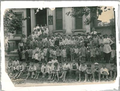 Photo circa 1940s, Caroline Mission, Lafayette Park in St. Louis a settlement house now known as Neighborhood Houses