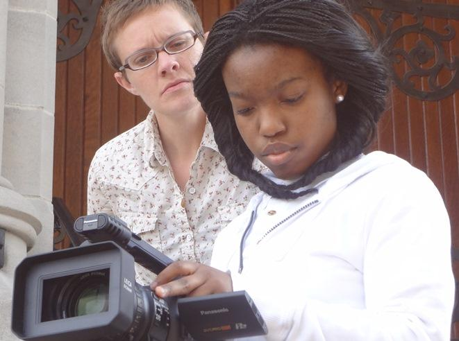 Christie Tibbetts mentors Pentimento filmmakerKiana Bland