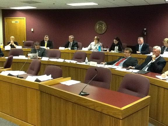 Mo. House Interim Committee on Government Responsiveness & Efficiency meets at the State Capitol on Aug. 26, 2013.