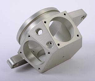 Multi-axis machined defense part made by Homeyer Precision Manufacturing