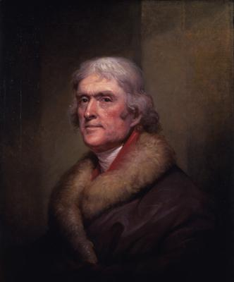 Thomas Jefferson by Rembrandt Peale, 1805