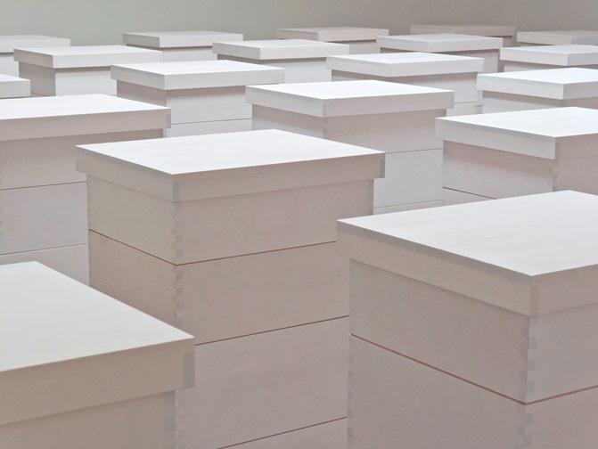 Iñigo Manglano-Ovalle, Beehive Grid 7 x 6, 2012