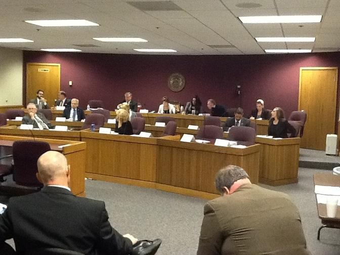 Mo. House Interim Committee on Government Responsiveness & Efficiency meets at the Mo. Capitol on Sept. 25, 2013.