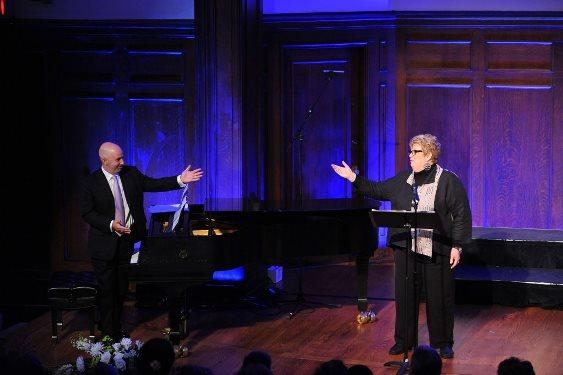 Christine Brewer and Peter Martin at Arts and Faith's Second Annual September 11th Interfaith Commemoration in Music
