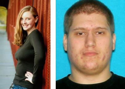 13-year-old Cleo Younce (victim, at left) and 21-year-old Nicholas Hurley (suspect).