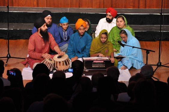 Sikh Study Circle of St. Louis choir at Arts and Faith's Second Annual September 11th Interfaith Commemoration in Music