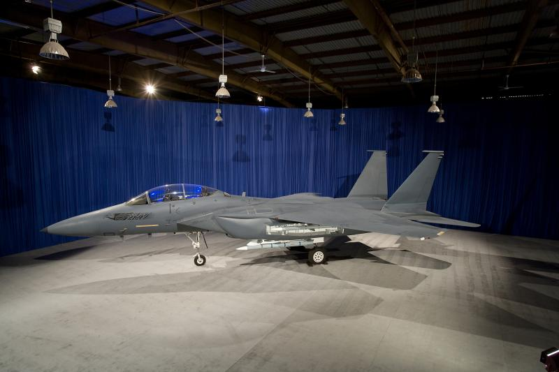 The Boeing F-15SE Silent Eagle.