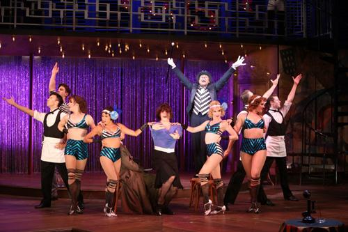 """The cast of Repertory Theatre of St. Louis' production of """"Cabaret."""""""