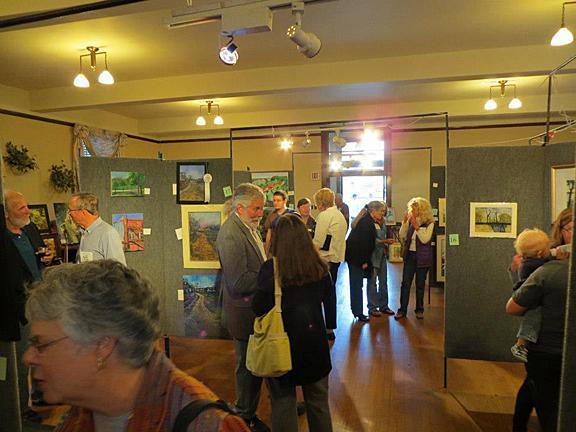 Golden Hills of Louisiana Missouri Pleine Air Painting Event Exhibition
