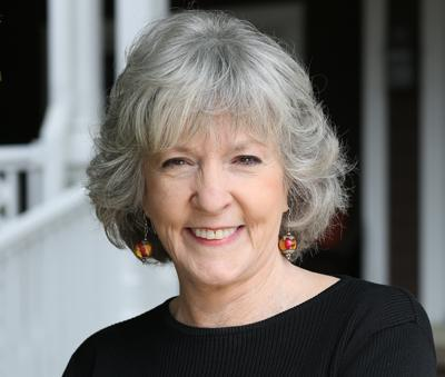 Sue Grafton, author of the alphabet mystery series featuring private eye Kinsey Millhone.