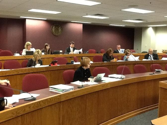 The Mo. House Interim Committee on Medicaid Transformation conducts a second day of hearings at the Mo. Capitol on Oct. 30, 2013.