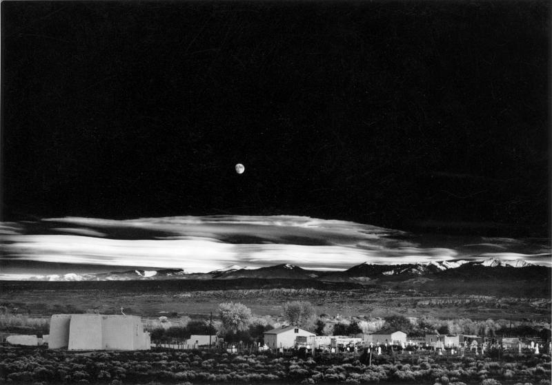 "Ansel Adams is among the 71 inductees in the hall of fame at IPHF. ""Moonrise, Hernandez, New Mexico"" is currently on display."