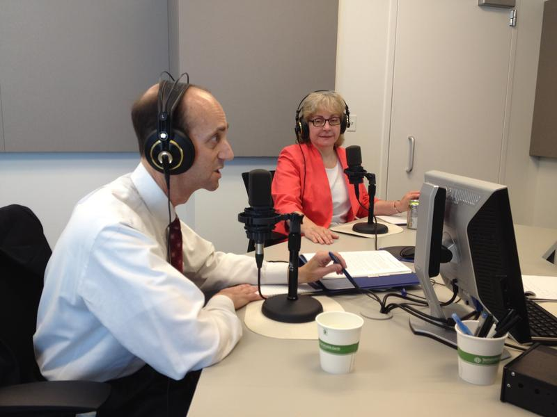 Missouri Auditor Tom Schweich appears on St. Louis Public Radio's 'Politically Speaking' podcast in 2013.