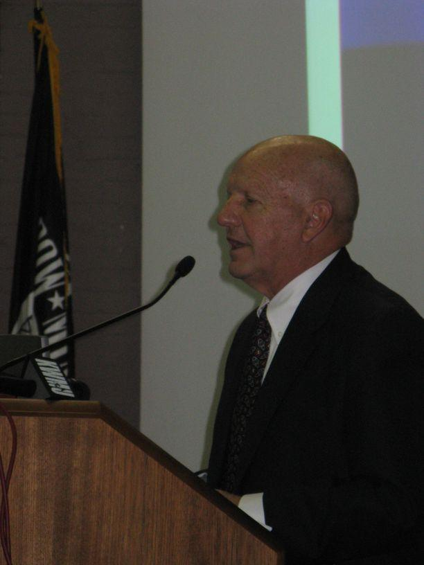 Bob Baer in 2008. He has been nominated to the St. Louis County Police Board.