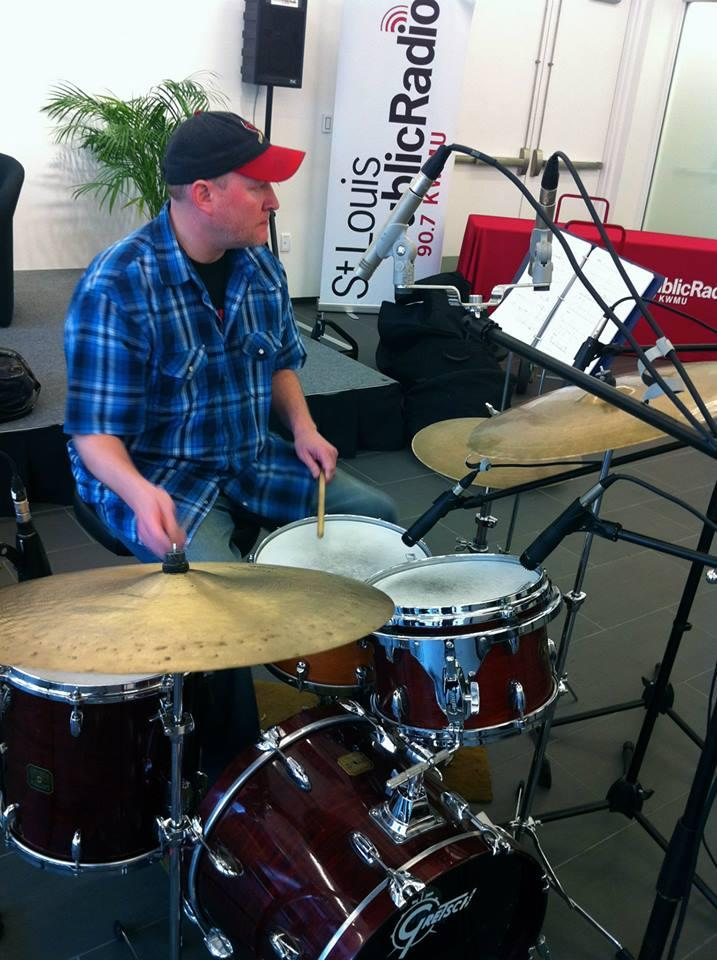 Adonis Blue drummer Kyle Honeycutt