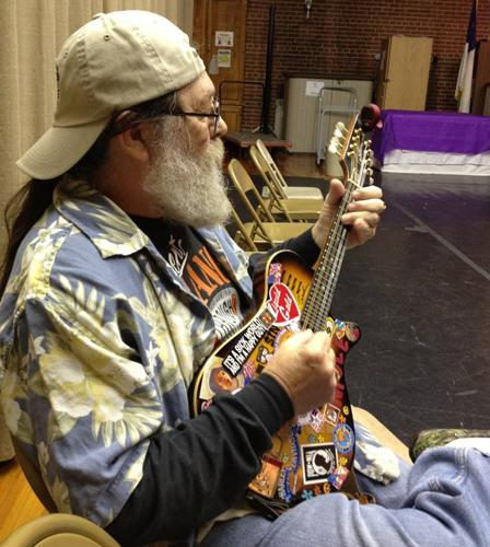 Dennis Reeves, Vietnam veteran and Six String Heroes instructor.
